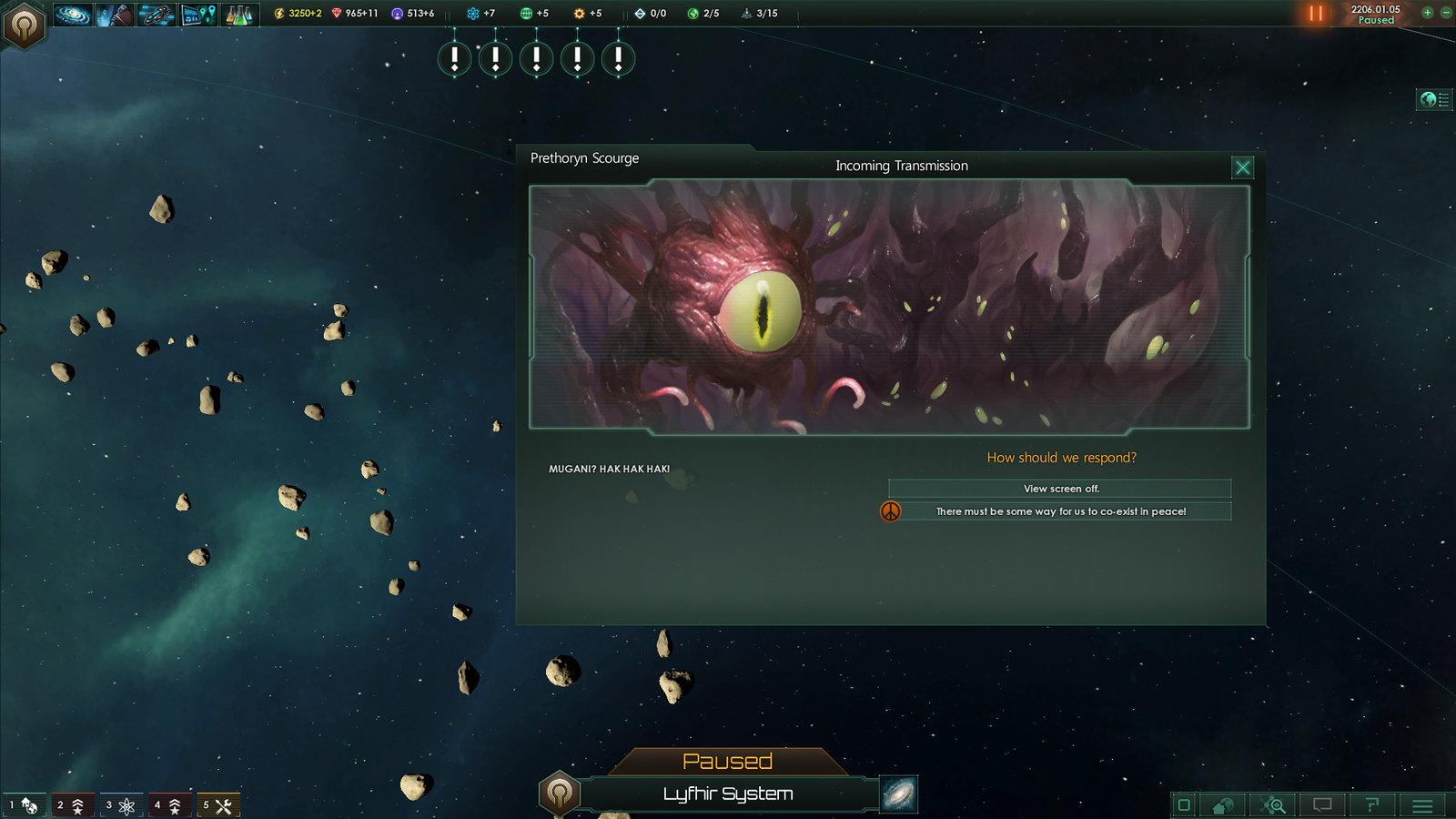 amenaza externa Stellaris