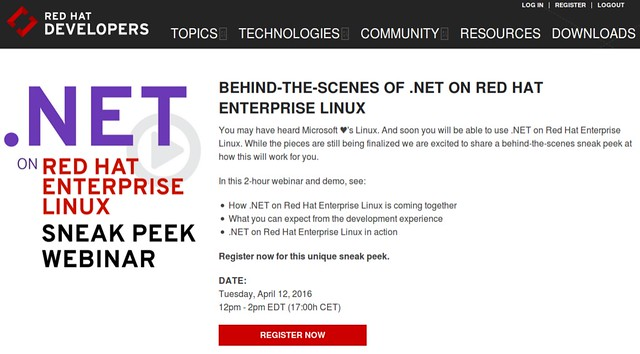 .NET Red Hat Linuxon