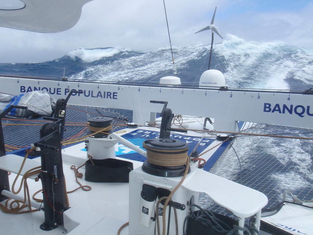 Jour 20  Images du bord  Trophee Jules Verne 20112012 - 12122011 - BPCE