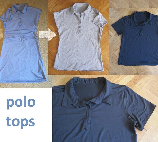 polo shirts flat