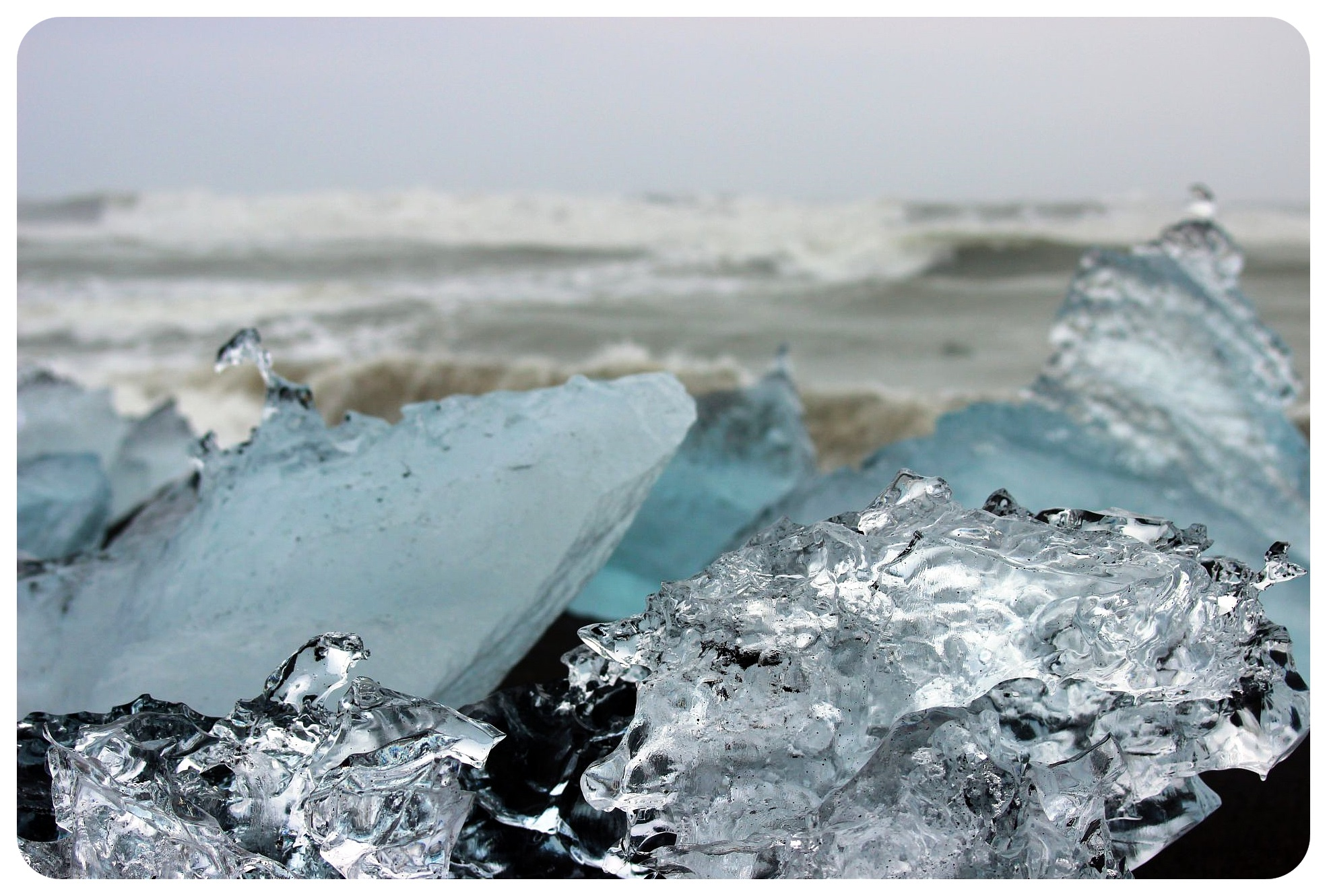 jokulsarlon iceland diamond beach