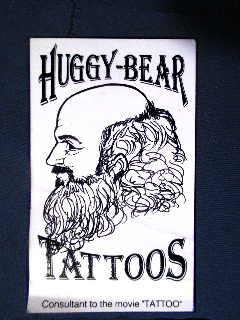 Huggy bear high society tattoos business card 8608 a photo on huggy bear high society tattoos business card 8608 magicingreecefo Image collections