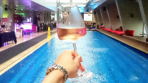 AIX Rosé Wine Media Tasting SkyBarTraders Hotel KL Provence France angeltini blog alcohol booze malaysia pool