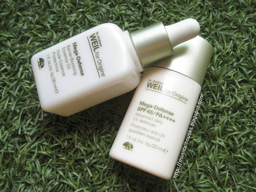 Origins Mega Defense SPF 45 Barrier Boosting Essence Oil Review