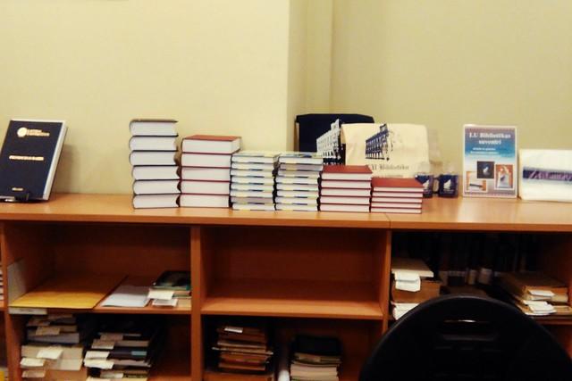 Dāvinājums bibliotēkai 2015