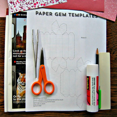 Paper Gem Supplies