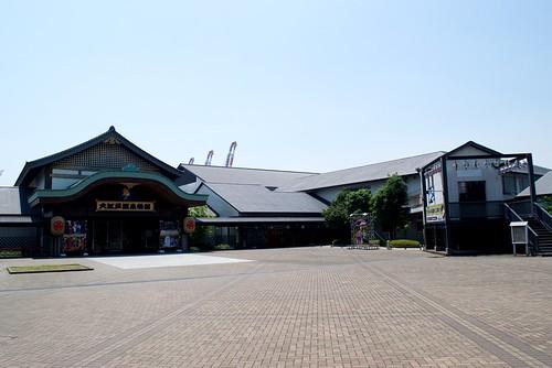 Oedo Onsen Monogatari, hot springs theme park in Tokyo
