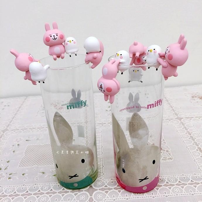 19 卡娜赫拉的小動物 P助與兔兔杯緣子