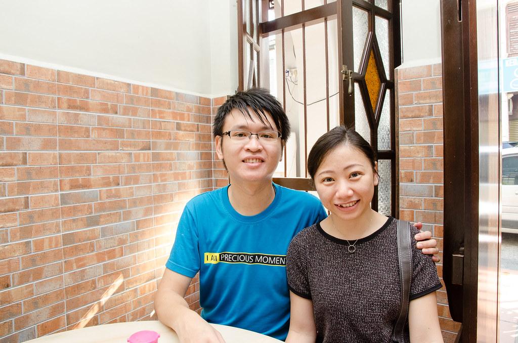 Laupoh and me at Hon Kei Food Corner