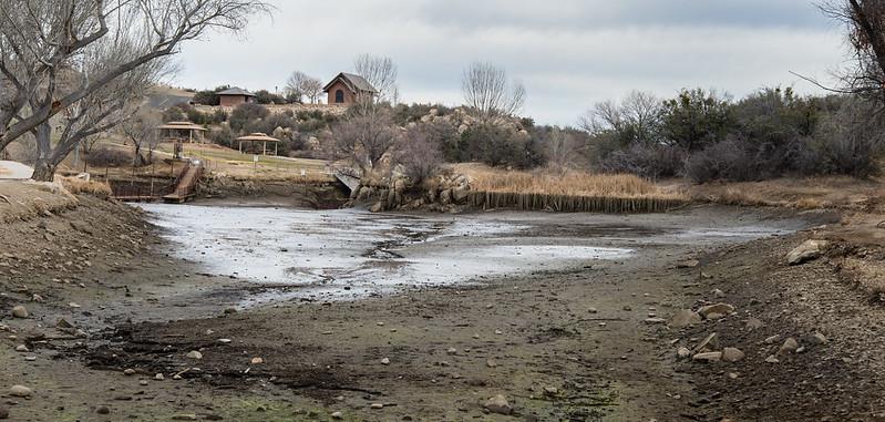 Fain Lake Mud flat