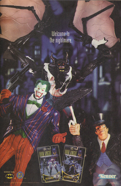 "KENNER:: ""LEGENDS OF THE DARK KNIGHT"".. "" - NIGHTMARE"" ii (( 1998 ))"