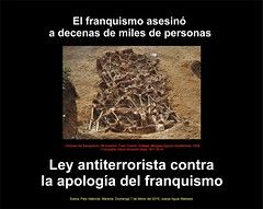 Victimes Franquisme. CARTELL. Llei contra Apologia. 7-2-2016 -JPG (ESP)