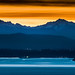 Olympic Mountains by EdBob