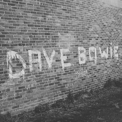 #bowie #davebowie #graffiti #southall