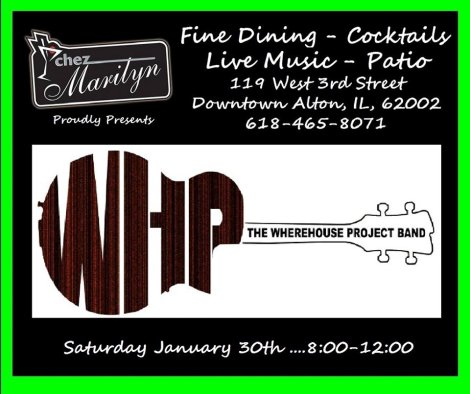 The Wherehouse Project Band 1-30-16