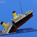 LEGO Sinking Titanic by TheBrickMan