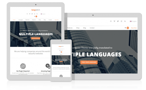 Langwitch v1.126 - Responsive Multi-Purpose WordPress Theme