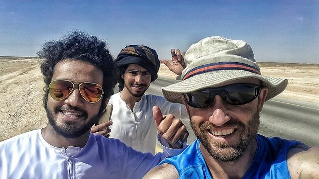 Making Omani friends