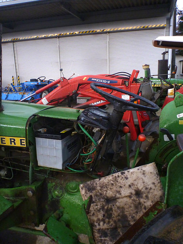 tractor cars car 日本 johndeere 宮城県 蔵王町
