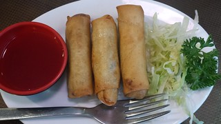 Spring Rolls at Pu Kwong