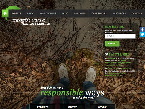 Snapshot: Responsible Travel and Tourism Collective 02.2016 #rttc