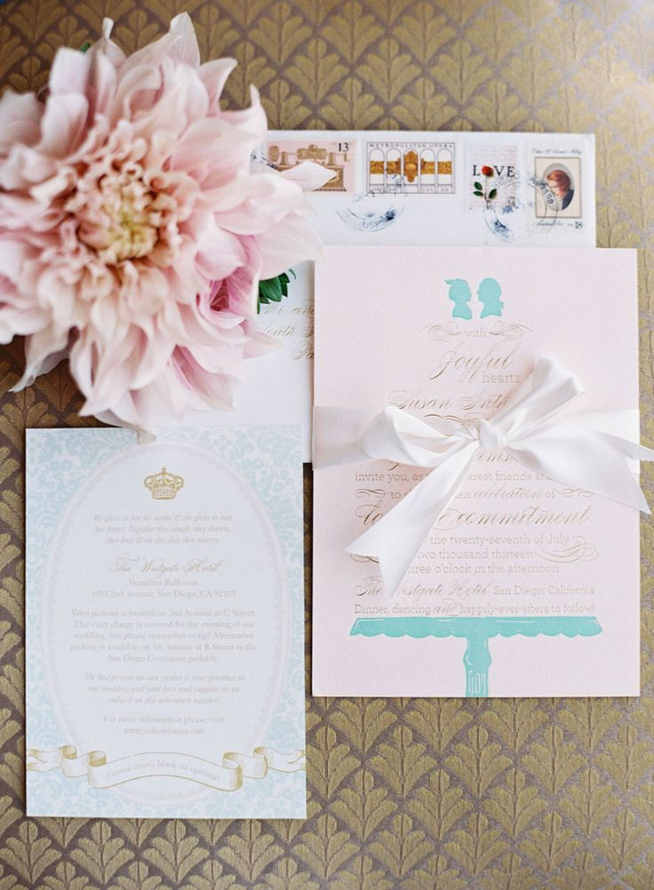 Marie antoinette Themed Wedding, Marie Antoinette party invitations | Fab Mood UK Wedding Blog