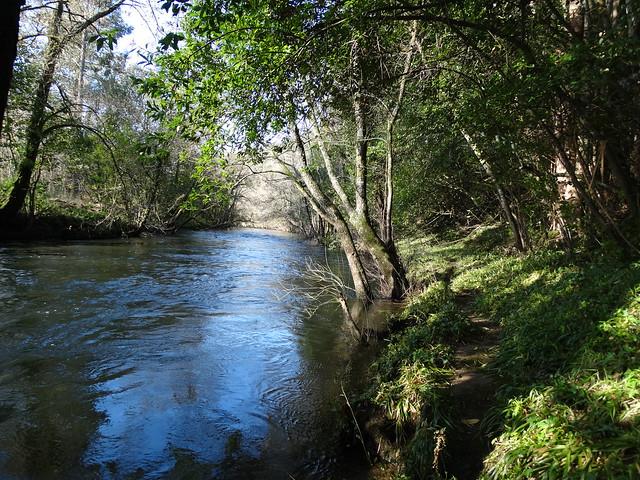 Río Mandeo en la Ruta de A Veiga do Mandeo a Xiela