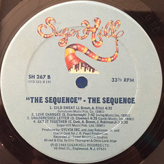 THE SEQUENCE:THE SEQUENCE(LABEL SIDE-B)