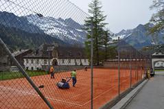 Clay Court & Alps