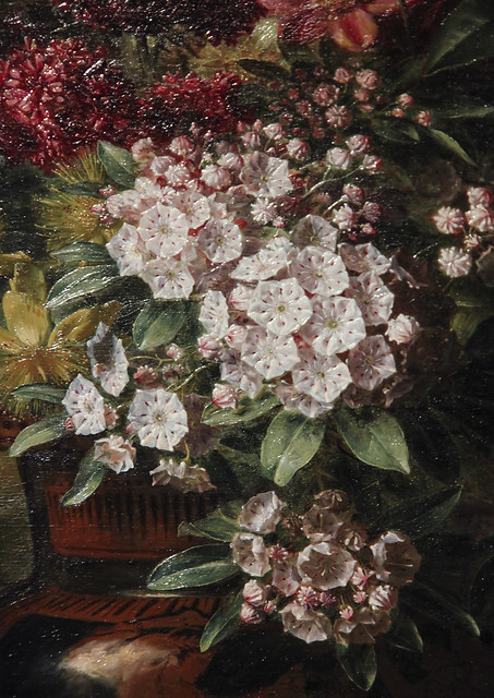 Detail - Still Life with Flowers in a Greek Vase - Allegory of Spring, Georgius Jacobus Johannes van Os, 1817