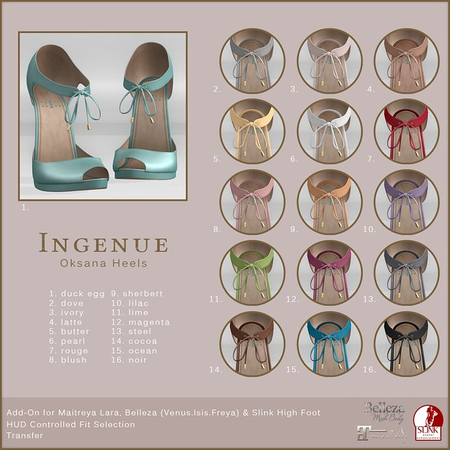 Ingenue :: Oksana Heels :: Shopping Guide