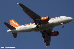 G-EZDF - 3432 - Easyjet - Airbus A319-111 - Luton, Bedfordshire - 2016 - Steven Gray - IMG_4967