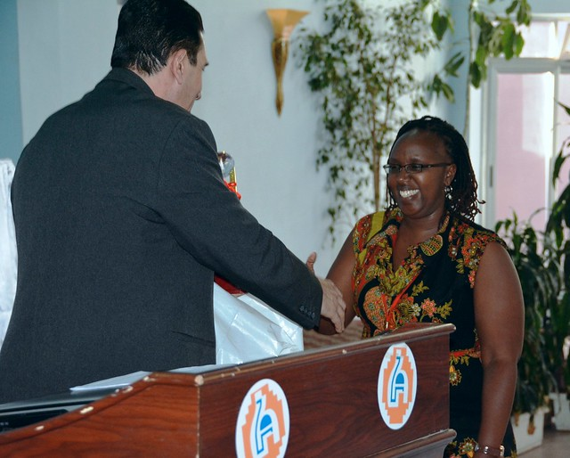 Catherine Mungai wins best paper prize
