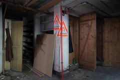 Abandoned Premises - Danger of Explosion