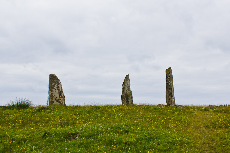 Glengorm's standing stones