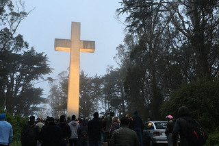 Mt. Davidson - Easter Sunday sunrise service