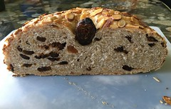 NZ Almond and Fig Bread