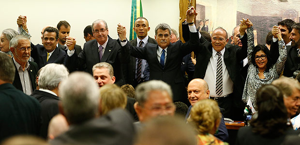 PMDB, desembarque do governo dILMA