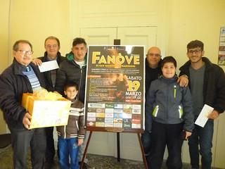 Foto di gruppo di tutti i vincitori