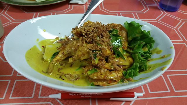 2016-Mar-10 Angie's Malaysian Eatery - K.K. Buttermilk Tiger Prawns