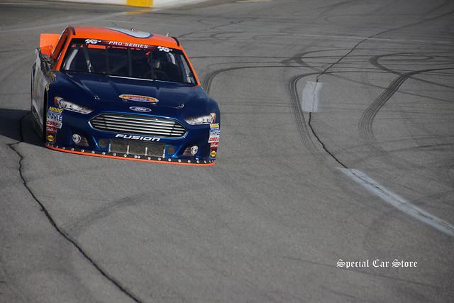 NASCAR K&N Pro Series West practice at Irwindale Speedway