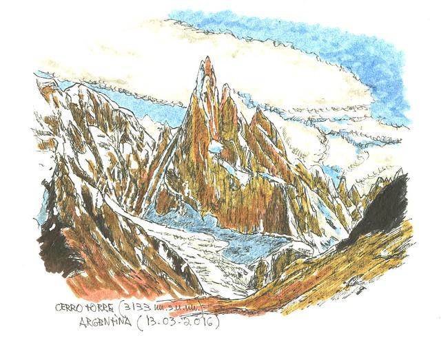 Cerro Torre (3.133 m.s.n.m.)