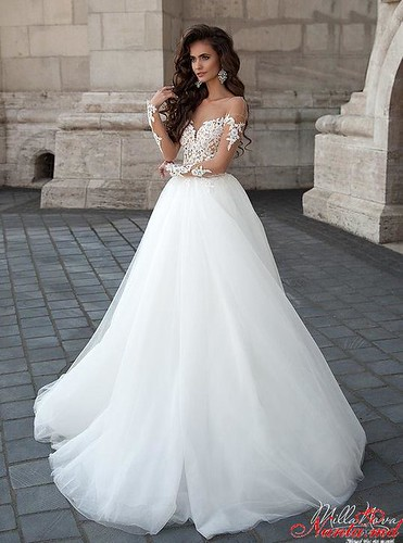 Свадебный Салон Cocos-Вся роскошь и элегантность свадебной моды в одном месте! > Нежное платье MARSELA - в Свадебном Салоне Cocos