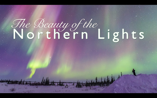 The Beauty of the Northern Lights (Title Screen)