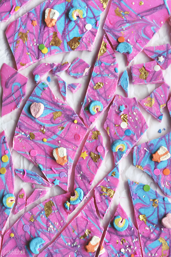 Unicorn Bark! bethcakes.com
