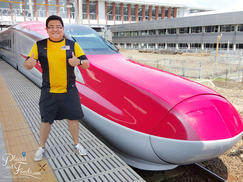 JR train malaysia jersey selfie