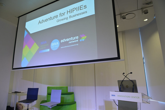 Adventure for HIPIIEs en @CIBBVA 2016