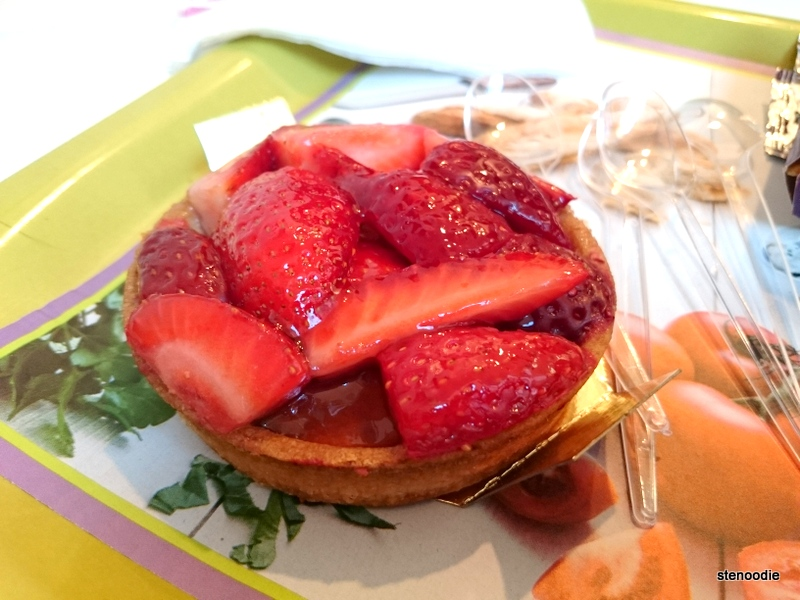 Tartelette Fraise (strawberry tarlet)