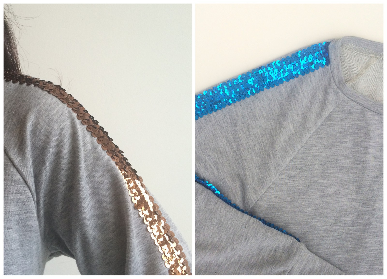glitter sweaters (collage)