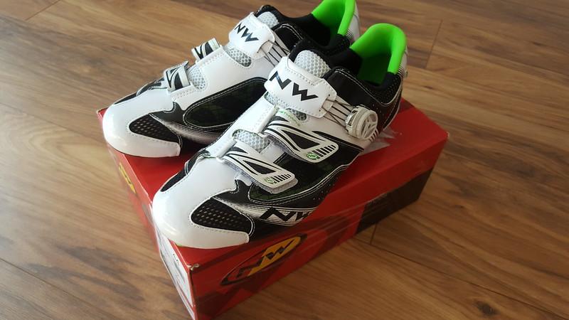 FS Rockshox Monarch RT3 shock, Northwave road shoes UK10 new